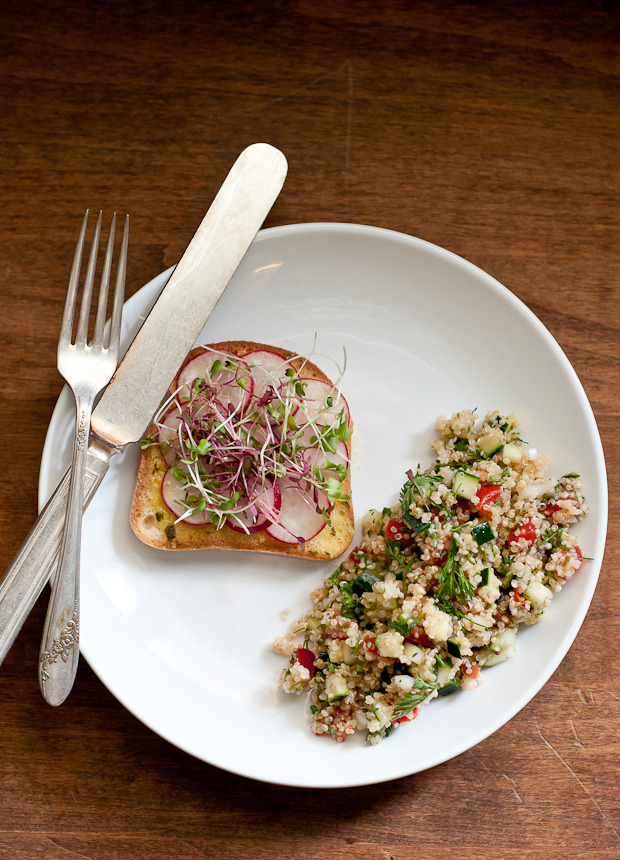 Quinoa Tabbouleh (via Cafe Johnsonia)