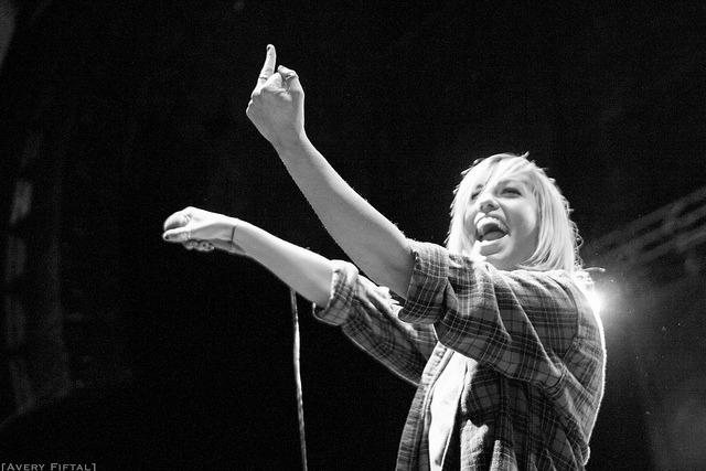 Tonight Alive on Flickr.Jenna McDougall November 2, 2012 Worcester, MATumblr | flickr | The Harmonic Series