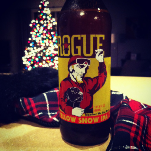 Beer Advent Calendar Day 5: Rouge Yellow Snow IPA!