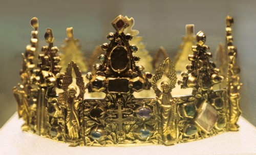 Reliquary crown - Mosan ~ 1260-70