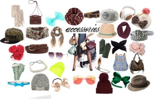 Dream Wardrobe-accessories by andii-ns featuring brimmed hats