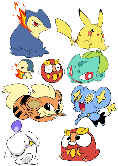 shavostars:  i doodled pokemon instead of doing work.  ADORABUUUUUUUUU