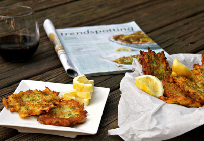 Mario Batali's Zucchini-Ricotta Fritters by Care's Kitchen on Flickr.
