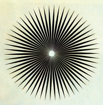 latetedanslalune:  ᚣ cavetocanvas:  Philip Taaffe, Big Iris, 1985