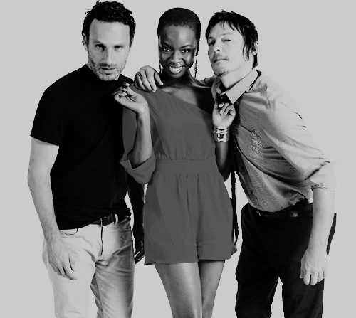 Love love love Darryl and Michonne