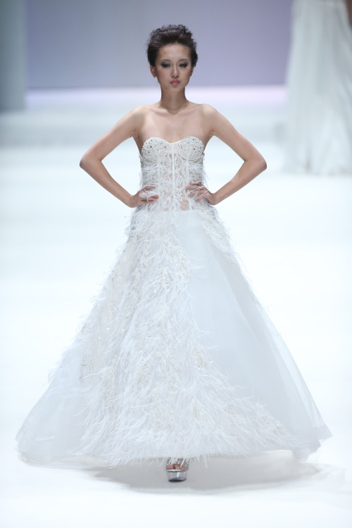 zhang jingjing 2013 ss haute couture - china fashion week