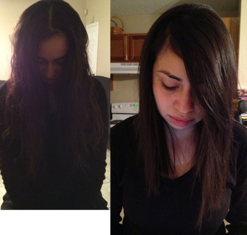Front Before and after styled