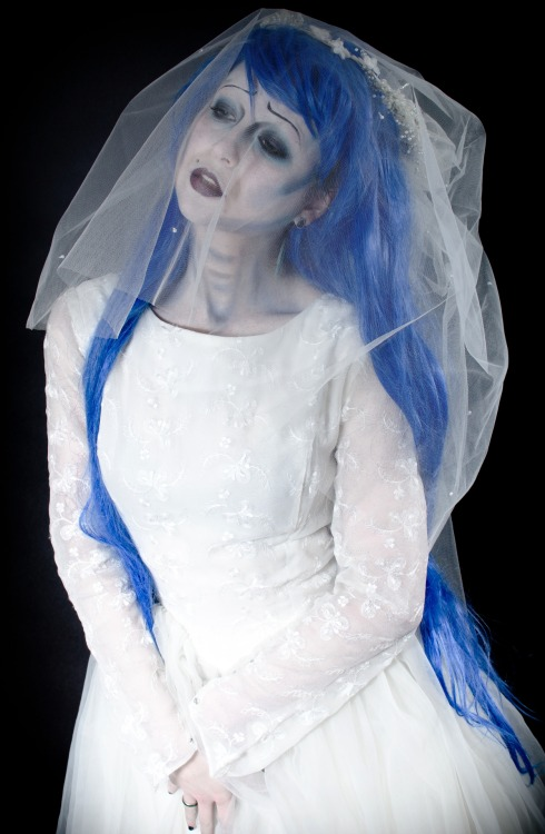 Shooting with Calvin James as the corpse bride :D x