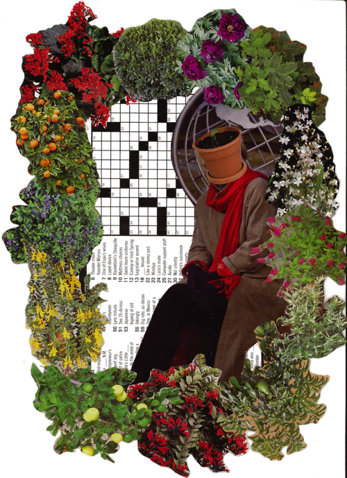 The Pot Queen (No, not that kind) i did a new collage, and made it transparent C: