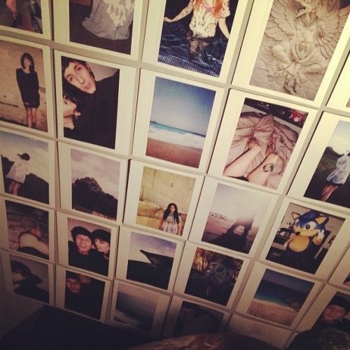 theadventuresofoliversykes:  My bedroom wallsssss