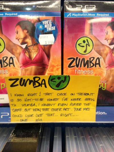 Zumba Fitness Now if only you could get your significant other (male or female) to just play the game…  - Thanks TomM_jbaus!