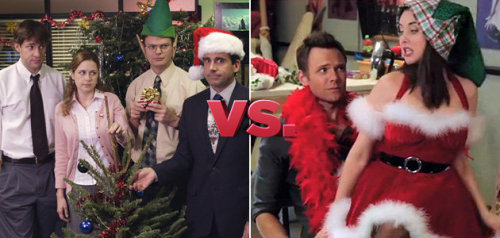 "Which Christmas episode is better? - The Office, ""Christmas Party"" - Community, ""Regional Holiday Music"""