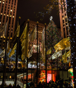 Merry Christmas from Rockefeller Center.