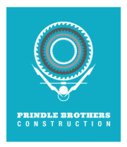 Designed a new logo for an Angelfire, NM construction company - Prindle Brothers Construction.