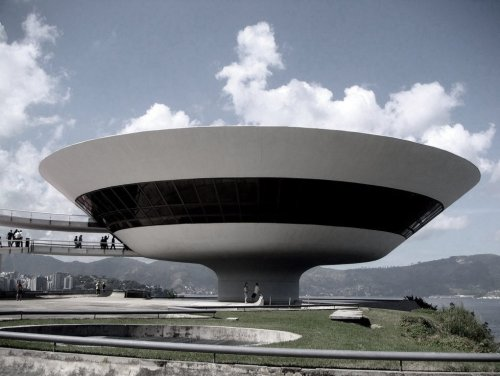 theabsolution:  Oscar Niemeyer (1907-2012) Not only Brazil, but the world has just lost one of it's most brillian architects. During 76 years of production, Niemeyer designed over 130 building worldwide and won 10 awards, including the Pritzker Prize in 1988. He died in Rio de Janeiro at 104 years old and left a huge legacy to architecture.