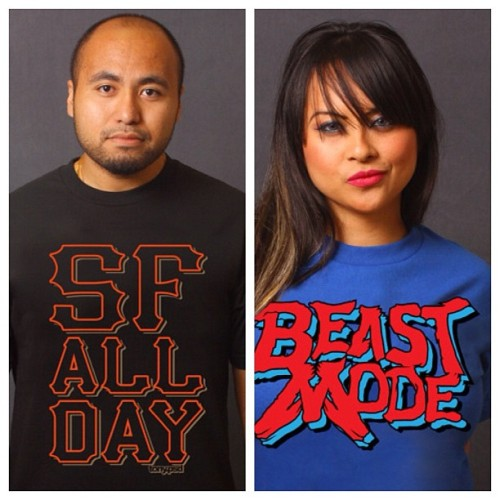 Next week: designs 7 & 8 (of 10 new designs) #SFallday and #BeastMode (in orig. #Sega #AlteredBeast colors) visit: www.tonypsd.bigcartel.com