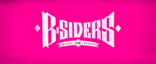 B-SIDERS custom type logo