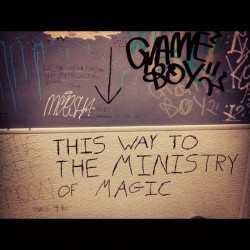 Forgot about this. Toilet to the ministry of magic is in Denver. #harrypotter