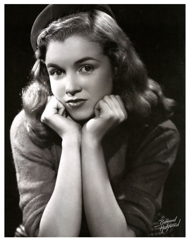 mudwerks:    Norma Jean, 1946 (by paul.malon) Bruno of Hollywood.