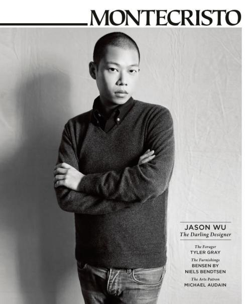 My cover story about acclaimed fashion designer Jason Wu. Read the full profile online at www.montecristomagazine.com.