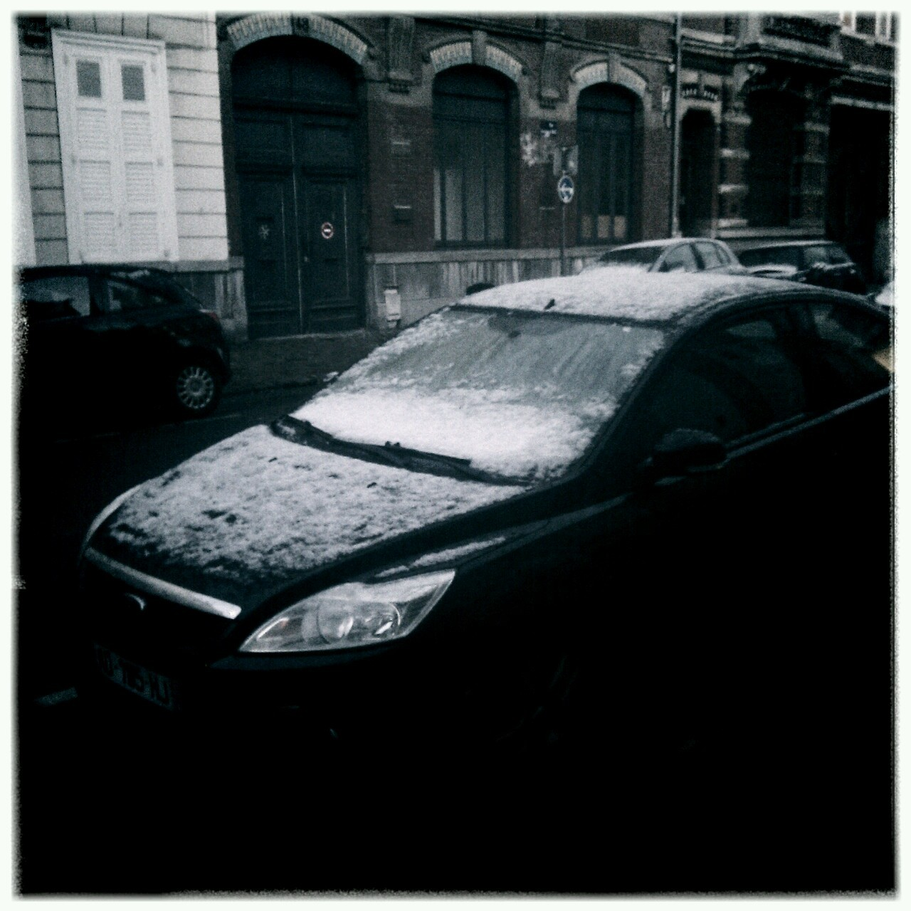 First snow. Winter is here!