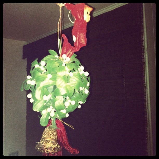 Creepy baby mistletoe