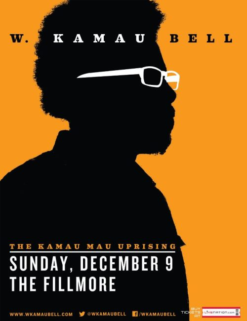"12/9. W. Kamau Bell @ The Fillmore. 1805 Geary St. SF. 8PM. $30. Featuring Dave Thomason. Tickets Available: Here.   W. Kamau Bell with special guest Dave Thomason. On the heels of the completion of the second cycle of Kamau's critically acclaimed FX late night comedy series, ""Totally Biased With W. Kamau Bell,"" he's heading out on a tour to select cities in December."