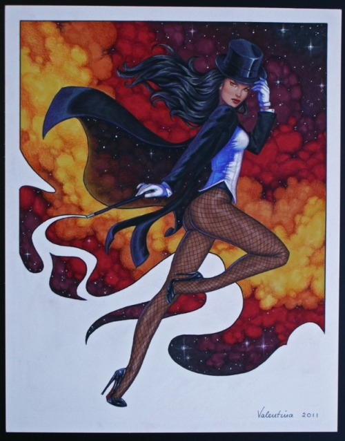 Happy Birthday, Zee! Zatanna by Conny Valentina Magic Monday