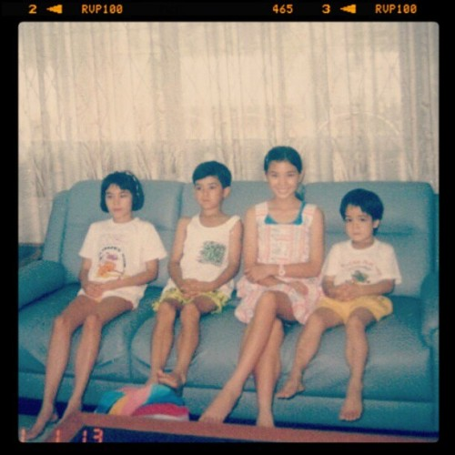 #throwbackthursday - @steph_chai @tristanchai @tams_tribe #cousins #family #kuching #oldschool #malaysia