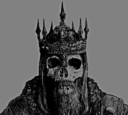Evil King Crown Drawing