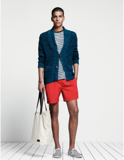 FINE STRIPES | TOMMY HILFIGER S/S 13 Lookbook.