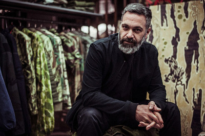 PORT Magazine: Hardy Blechman of maharishi Talks Camouflage Conversing about the origins of camouflage, maharishi founder Hardy Blechman sits down with PORT Magazine to discuss the evolution of camouflage, its utility and its relevance today. Positing that the use of camouflage is not just a military invention, Blechman touches on the various looks army garb has taken on over the years, culminating in the use and purpose of camouflage in today's contemporary landscape. Associating camo with a timeless sense of cool that has permeated army attire for centuries, Blechman offers a bit of background as to why camo is so prevalent within maharishi's designs today. Check out his interview with PORT Magazine for more information on the history of camouflage. The Man himself.