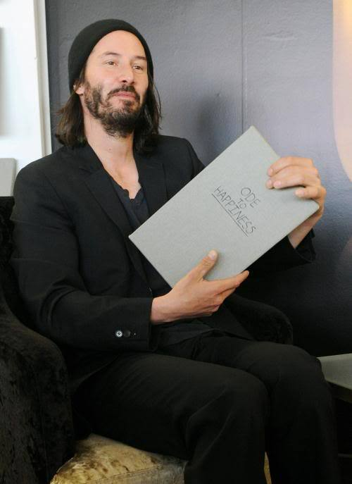 celebs-and-books:  Keanu