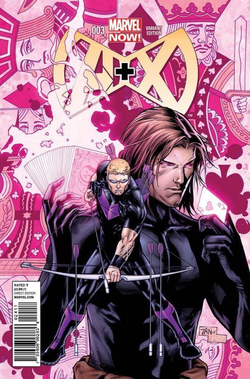 Billy Tan - Hawkeye and Gambit