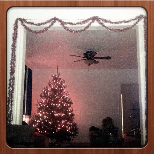 Vintique holiday #vintique #christmas #christmaslights #tree #christmastree #decorations