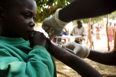 "Photo: An MSF staff member vaccinates a child for measles. DRC 2008 © Anna Surinyach  MSF at the GAVI Alliance ""Partners' Forum"" Vaccination Conference, Tanzania, December 5–7, 2012 MSF is deeply concerned that the current global vaccination strategy is not paying enough attention to reaching the one in five babies born each year that continue to go without the very basic vaccination package. MSF sees the direct effect of the failures in basic vaccination when massive outbreaks of vaccine-preventable diseases emerge in places where we work. In 2010 in the Democratic Republic of Congo alone, MSF vaccinated more than four million people for measles in response to outbreaks that would not be happening if routine immunization were working well. The global number of babies not fully vaccinated rose from 19 million in 2010 to 22.4 million in 2012—there's an urgent need to address this situation. The approach being taken in the vaccines blueprint being launched for the next ten years—the ""Global Vaccine Action Plan"" and ""Decade of Vaccines""—does not adequately emphasize the need to strengthen basic immunization. Developing vaccines that are better adapted to reach children in remote or unstable locations—vaccines that do not require refrigeration, do not require needles, and that can be given in fewer doses—is not being prioritized enough. Better products are needed to alleviate the growing number of un-immunized children. GAVI should play a role in the development of adapted products, but to date, it has not done so."