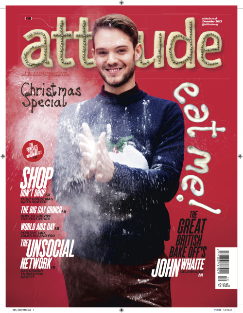 We're happy to be supplying Attitude Magazine with their very own 'Sexy Elf' for the inaugural reader's event tonight at The Conran Shop in Fulham. The evening features an appearance by the winner of The Great British Bake Off and December cover star, John Thwaite, and a raffle to benefit the Elton John AIDS Foundation.
