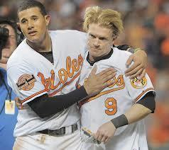 "Orioles Make the Right Call By Re-signing Nate McLouth The Baltimore Orioles took their first big step towards repeating the magic of 2012 by agreeing to terms with outfielder Nate McLouth on a one year contract. McLouth will serve as Baltimore's left fielder and likely hit either first or second in manager Buck Showalter's lineup. McLouth began the 2012 season with the Pittsburgh Pirates but was released in May after hitting just .140 in 34 games. McLouth signed a minor league deal with Baltimore and played well enough at Triple-A Norfolk to earn a chance with the Orioles. Nolan Reimold"" opened the season in left field for the Orioles but he was quickly lost for the season to a neck injury. Showalter shuffled a bevy of underwhelming performers through left field before McLouth was summoned to Charm City in August. Continue Reading"