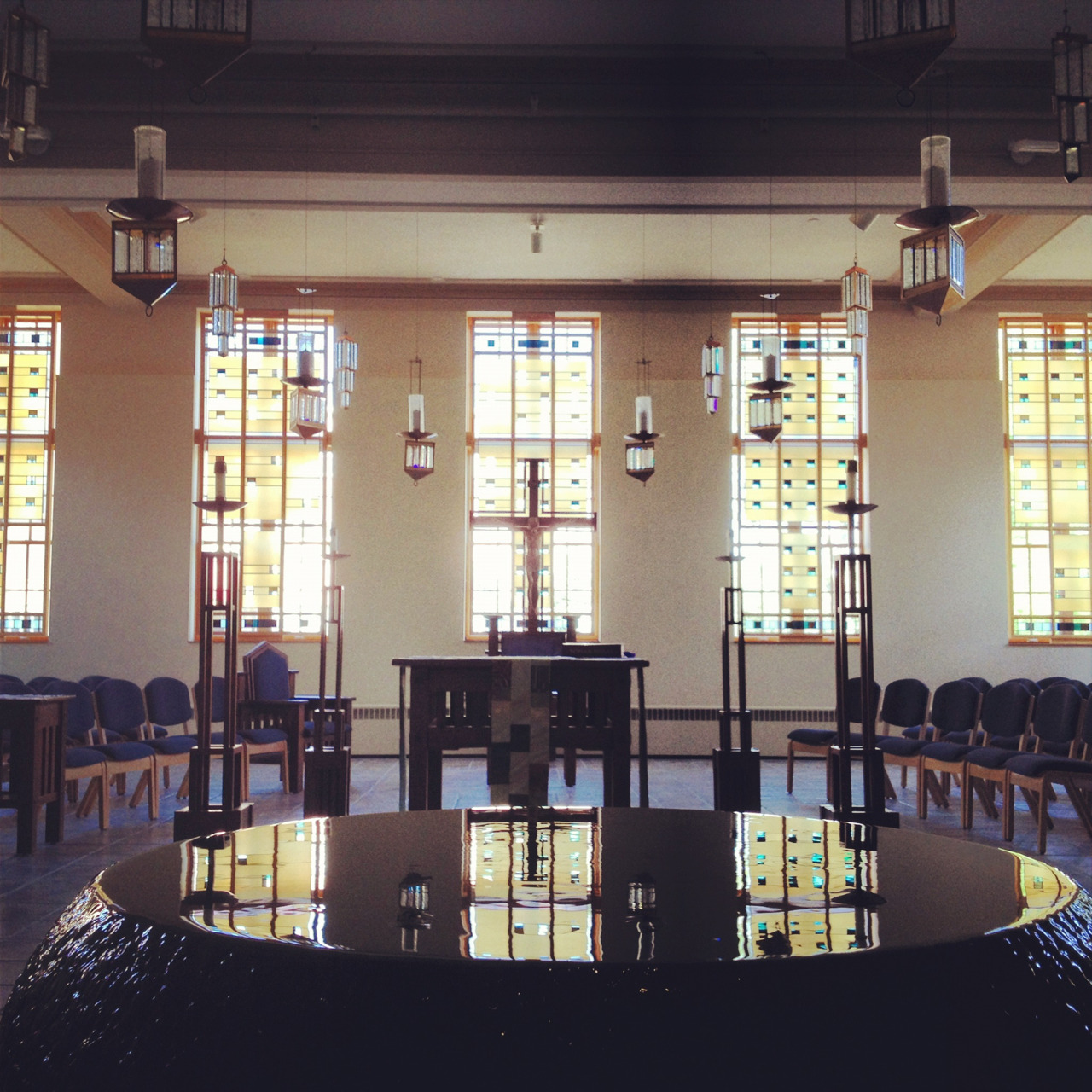 St. Ignatius Chapel at the University of Detroit Mercy