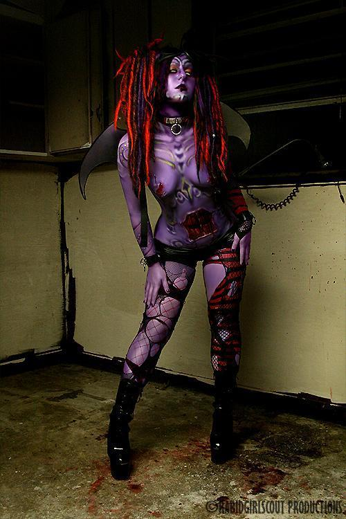 Older Work from 2008  Model: Hex  Photo: Rabid Girlscout