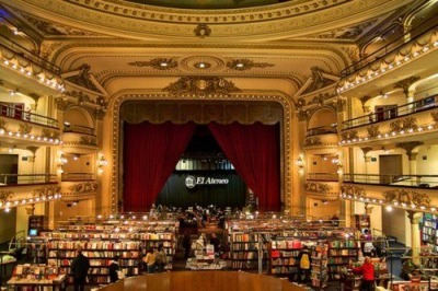 Theatre that became a bookshop.