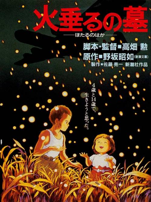 Movies of 2012, #91: Grave of the Fireflies Directed by Isao Takahata