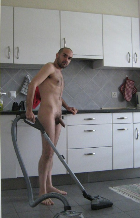 That vacuum is all the sucking you're gonna get to do today, fag. Now hurry up, I have company in an hour.