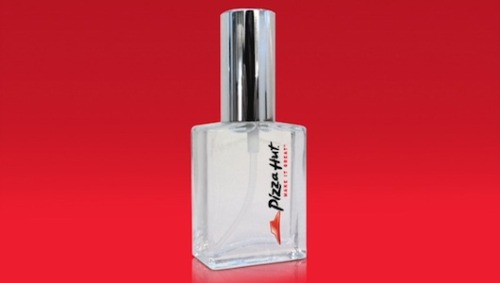 mothernaturenetwork:  Pizza Hut creates pizza perfumeEau de Pizza Hut comes to fruition; Coco Chanel turns in her grave.   I QUIT