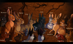 Watership Down characters! For a more advanced version click here: http://fav.me/d5nba1m