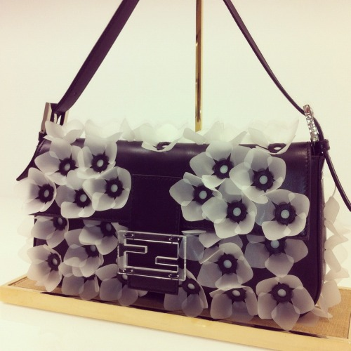 Blooming baguette at Fendi PreFall 2013 via @mduenasjacobs instagram