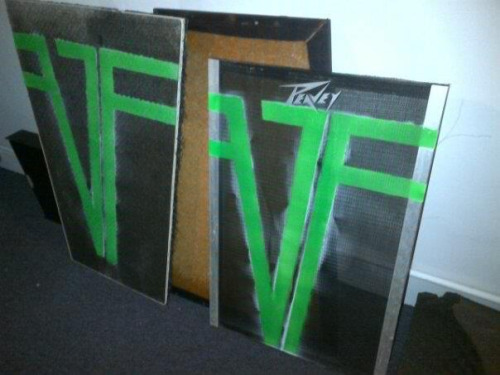 The new Von Frankensteins custom amps!!!