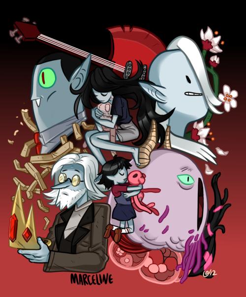 Oh Marceline,Adventure Timefan art byFataldose