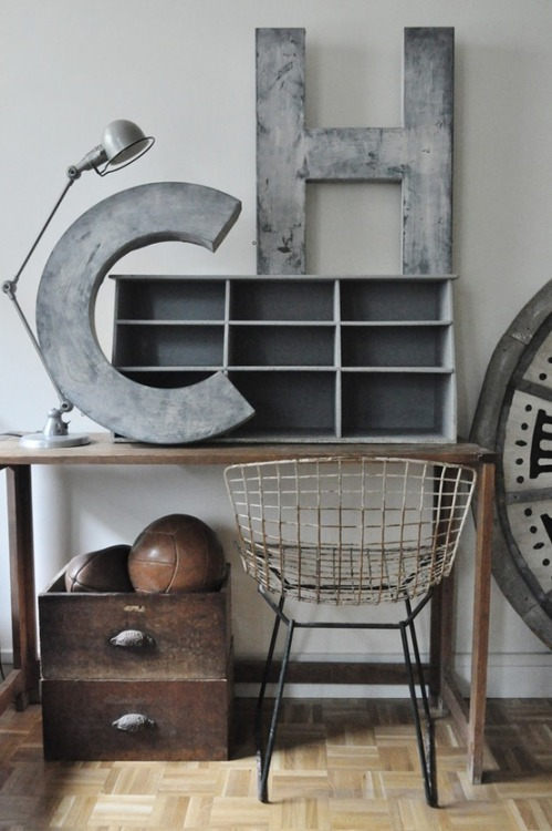 late-nightsnack:  Industrial Finishes + Reclaimed