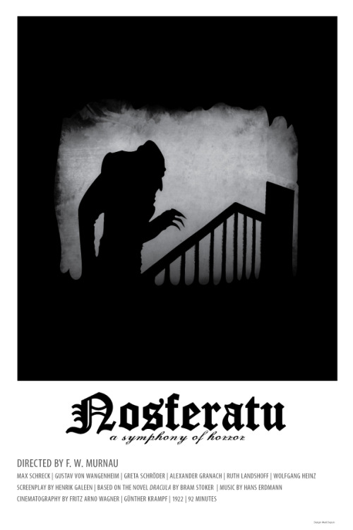 Nosferatu: a Symphony of Horror by Matt Dupuis